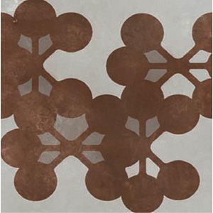 Azulej Flores, Grey, Box of 24 Tiles