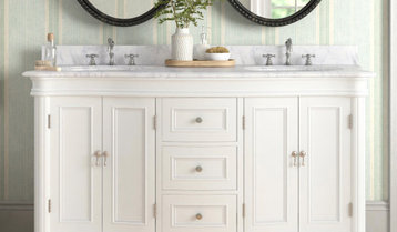 Highest-Rated White and Gray Vanities