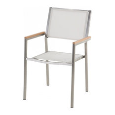 Grosseto Outdoor Dining Chair, White