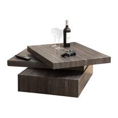 GDF Studio Haring Square Rotating Coffee Table