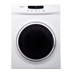3.5-Cu. Ft. Compact Electric Dryer, White