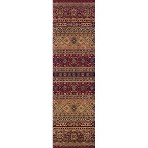 Tashkent 135-R Runner, Red, 68x235 cm