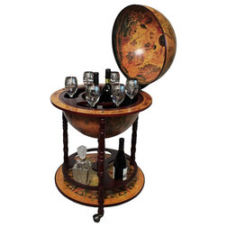 Traditional Bar Carts by Urban Designs, Casa Cortes