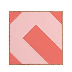 Triangle Footprint CC3 Framed Wall Art, Large