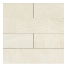 "Purestone 12""x24"" Stone Look Porcelain Tile, Bianco"