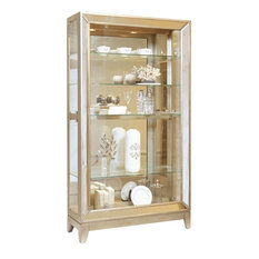 Pulaski Furniture Platinum Antique Mirrored Curio