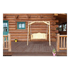 """Montana Collection Lawn Swing With """"A"""" Frame, Exterior Finish"""