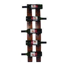 5 Bottle Wall Rack, Noir
