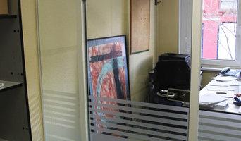 "DIVISIONES DE OFICINA ""PLANET"" Puerta"