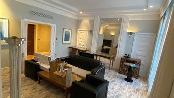 Refurbishment of hotel Rooms