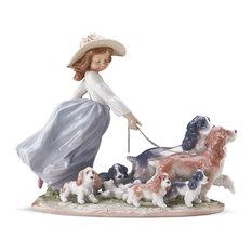 Lladro Puppy Parade Figurine