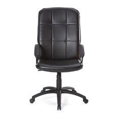 Alinéa - Nevada bureau Fauteuil de bureau noir - Chaise de Bureau