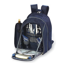 Endeavor 2 Person Picnic Backpack, Navy