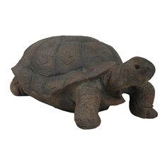 "Sunnydaze Todd the Tortoise Indoor-Outdoor Lawn and Garden Statue, 30"""
