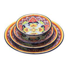 Frida Talavera Tableware, Set of 4