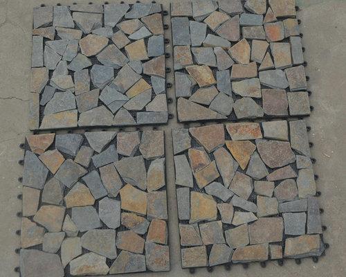 Plastic slate floor tiles ( pavers) - Products