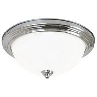 Chrome 1-Light Ceiling Flush Mount