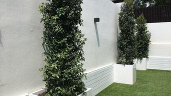 Proyecto jardín residencial en Valencia
