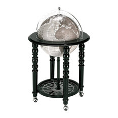 The MacArthur Contemporary Italian Bar Globe, Black