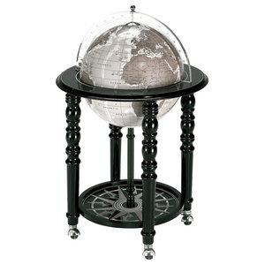 The MacArthur Contemporary Italian Bar Globe, Black