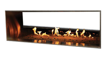 """48"""" Outdoor Linear Fireplace"""