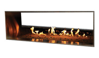 "48"" Outdoor Linear Fireplace"