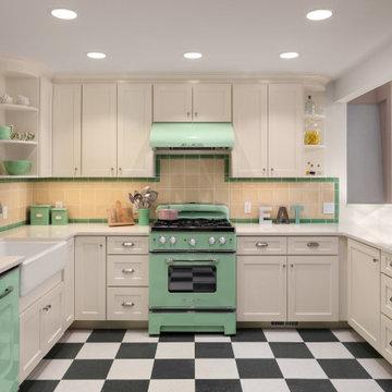 40's Revival Kitchen