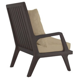 Midcentury Outdoor Lounge Chairs by ELK Group International
