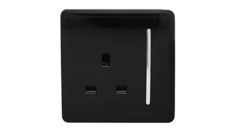 Trendi Switch 1-Gang 13 Amp Plug Light Switch
