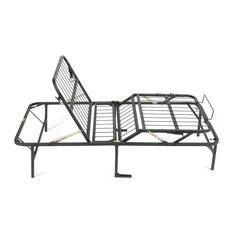 PragmaBed - PragmaBed Simple Adjust Foundation, Black, Twin Xl - Folding Beds