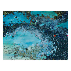"""Deep Sea Current"" Canvas Wall Art by Amy Genser, 40""x30"""