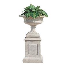Larkin Garden Vase on Plinth