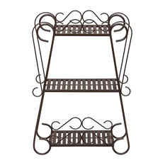 Plant Stand Shelf Multifunctional Display Rack, Bronze