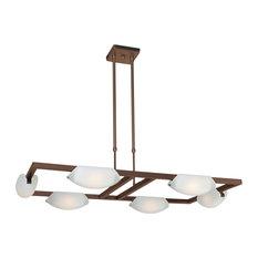Access Lighting 6-Light Chandelier