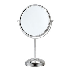 Double Face 3x Chrome Magnifying Mirror, Chrome