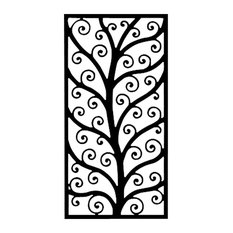 Black Wrought Iron Wall Decor shop wrought iron wall decor outdoor products on houzz