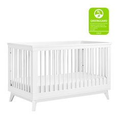 Scoot 3-In-1 Convertible Crib, White