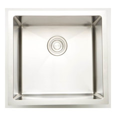 20-in. Laundry Sink for Wall Mount Faucet in Chrome