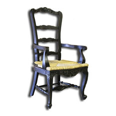 New Tall Dining Arm Chair French Country