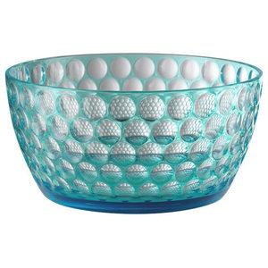 Lente Salad Bowl, Turquoise
