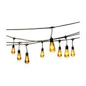 Farris 24-Light LED String Lights, 48'