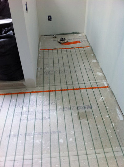 bathroom floor heating electric warm up your bathroom with heated floors 15874