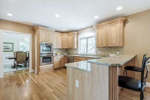 Help With Kitchen Cabinets Wall Paint Options With Honey Oak Floors