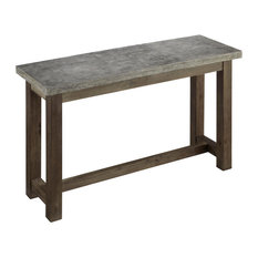 Home Styles Furniture   Concrete Console Table   Console Tables