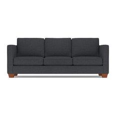 Apt2B - Catalina Queen Size Sleeper Sofa, Charcoal, Deluxe Innerspring Mattress - Sleeper Sofas