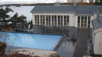 Poolhus & Villa Dalarö