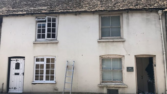 Two properties in Abbey Row, Malmesbury