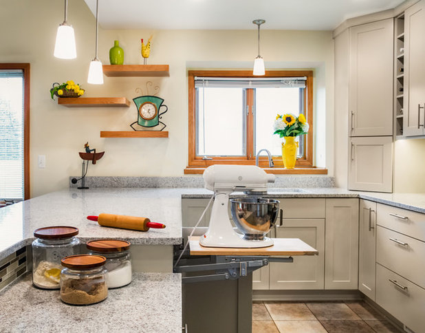 Kitchen Of The Week Storage For A Stand Mixer Powers A Redo