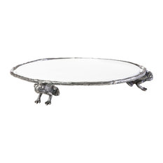 Woody Creek Frog Platter, Round
