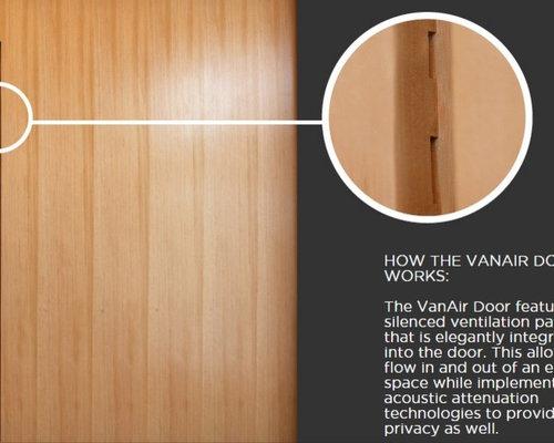 VanAir Design Ventilated Interior Door   Interior Doors
